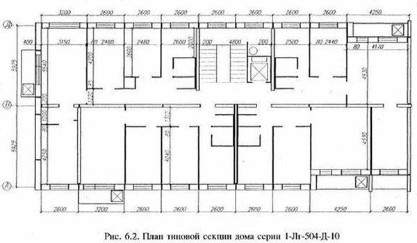 Перепланировка квартиры в доме серии II-68-03 в Санкт
