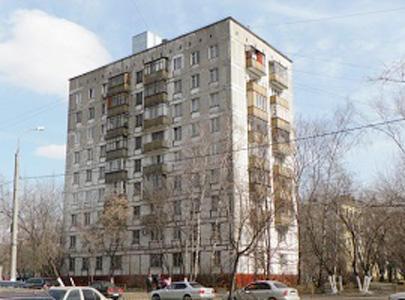 Типовой жилой дом серии ii-18-01/08б,ii-18-01/09б планировки.