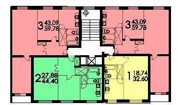 Типовой жилой дом серии ii-49 планировки квартир, фото.