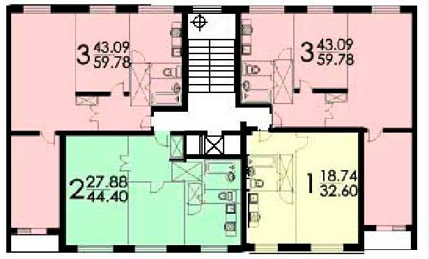 Дизайн хрущевки 2 комнаты: фото варианты планировки