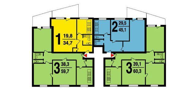 Размер балкона в доме 1 515 9. - дизайн маленьких лоджий - к.