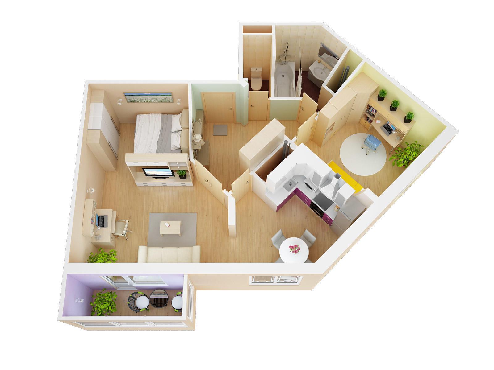 Планировка новых квартир фото