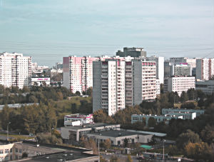 Стоимость жилья в спальных районах Москвы