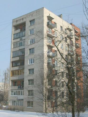 Типовой жилой дом серии 1-528кп-40 планировки квартир, фото.