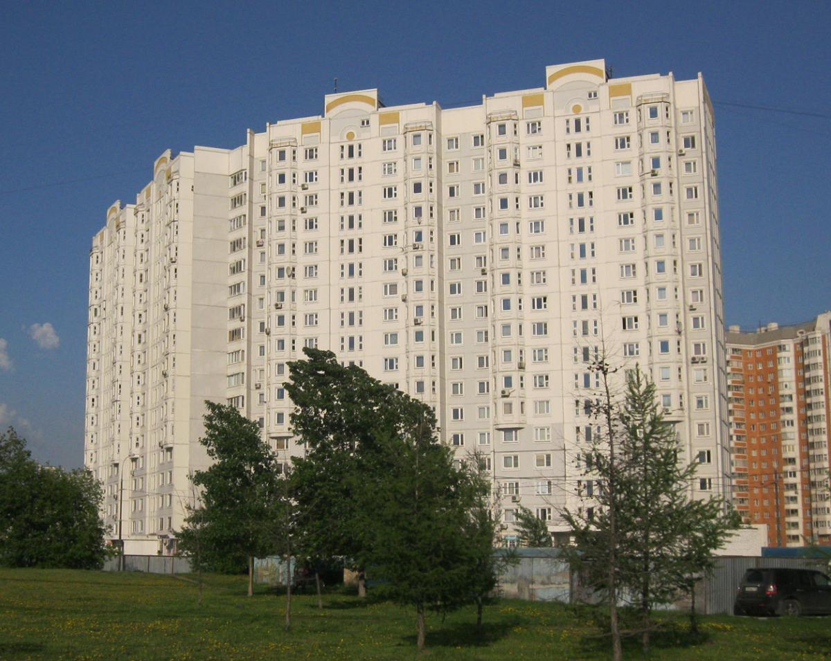 Типовой жилой дом серии пзм-1/14 планировки квартир, фото.