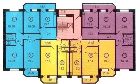 Квартиры серии 121 т