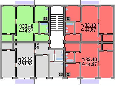 Дизайн-проекты, ремонт, интерьер двухкомнатных квартир