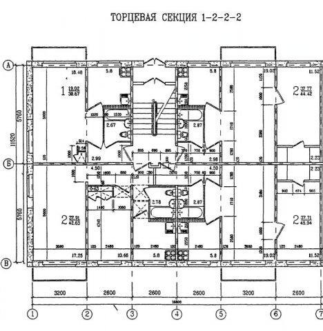 Дизайн квартир П-3М - Перепланировка серии П-3М