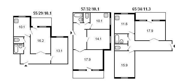 Серия домов 111 83 размер лоджии..