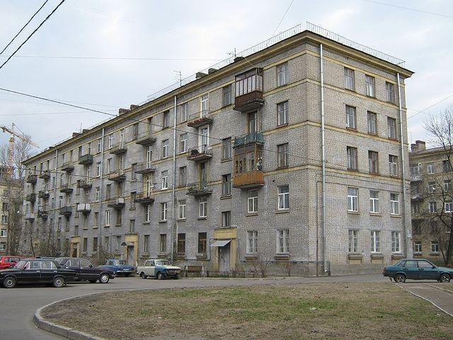 Типовой жилой дом серии 1-405 планировки квартир, фото.