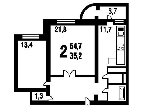 Типовой жилой дом серии п-111м планировки квартир, фото.