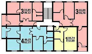 Перепланировка квартир 504 серии - Сделай дизайн